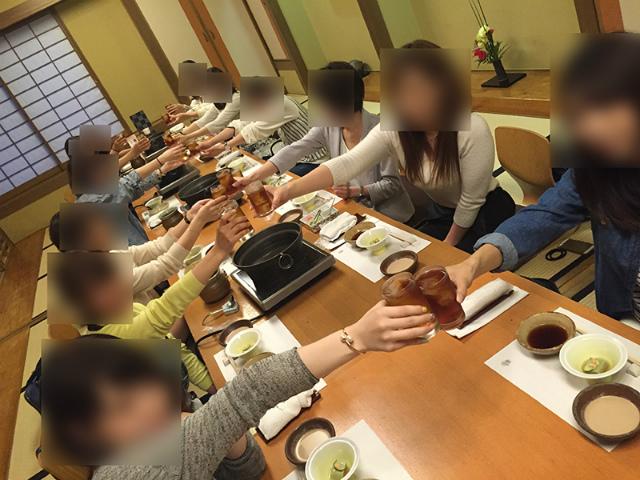 チャットレディジャパン博多プレミアム店みんなで食事会