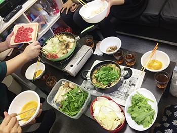 チャットレディジャパン鍋パーティ