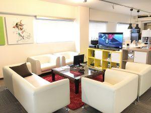 チャットレディジャパン熊本プレミアム店の休憩室
