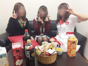 チャットレディジャパンの女の子とハロウィンの仮装