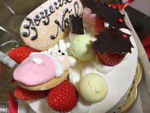 チャットレディジャパンのクリスマスケーキ