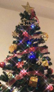 チャットレディジャパンのクリスマスツリー